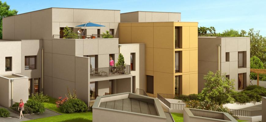 Achat appartement t3 et t4 rt 2012 les coteaux de la for Achat appartement t4
