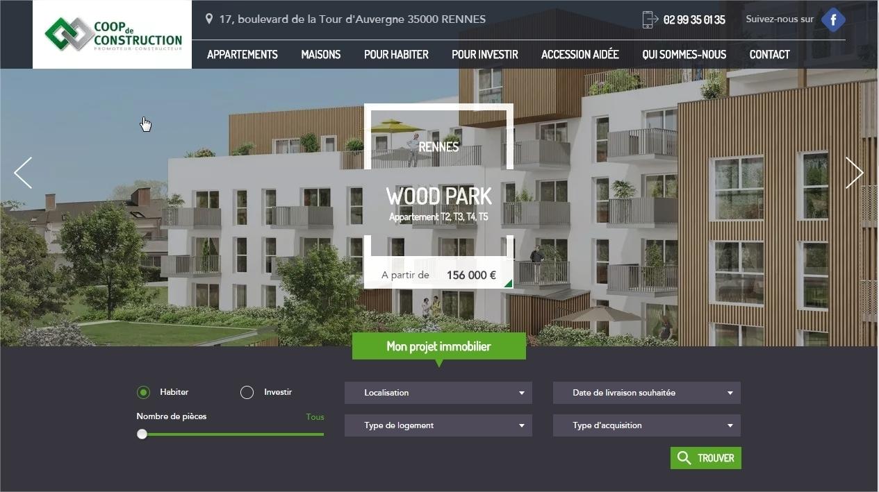 Constructeur De Maison Rennes achat maison neuve à rennes métropole | coop de construction